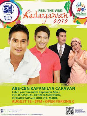 Kapuso and Kapamilya Stars live at SM City Davao - Davao Eagle