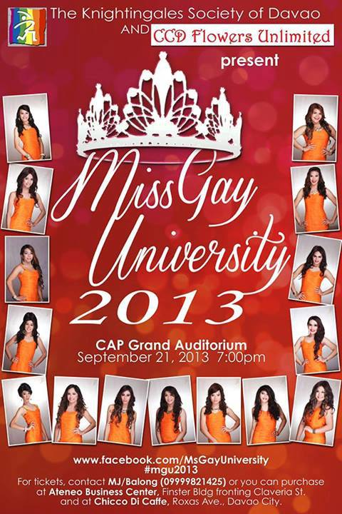 American Eagle Rebate >> Miss Gay University 2013 - Davao Eagle